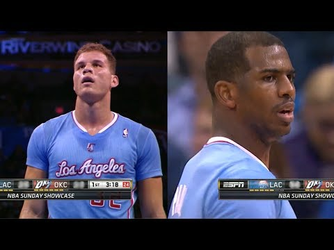 2014.02.23 - Chris Paul & Blake Griffin Full Combined Highlights at Thunder