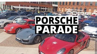 100 Porsche w jednym miejscu - było głośno! Porsche Parade 2017