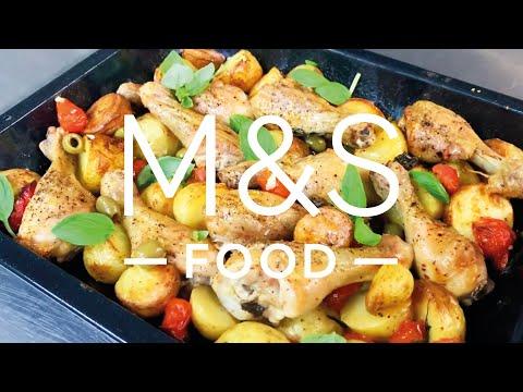 Chris' Ultimate Italian Chicken Traybake   M&S FOOD
