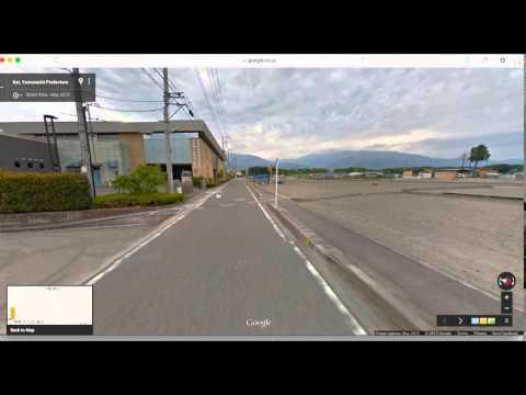 Kai City, Yamanashi, Japan (Google Street View Tech, May 2015)