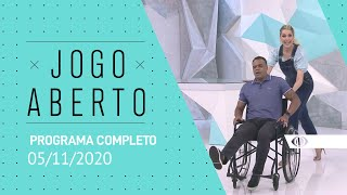 JOGO ABERTO - 05/11/2020 - PROGRAMA COMPLETO