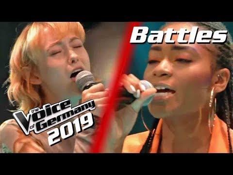 Jordin Sparks, Chris Brown - No Air (Sally Vs. Frederic Vs. Barbara) | Voice Of Germany | Battles