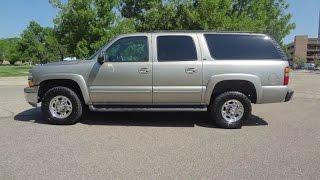 2003 Chevrolet Suburban 8.1L V8 4x4 Big Block Suburban 12,500 Towing Capacity!