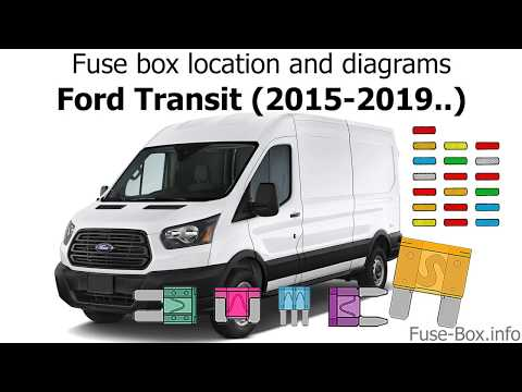 Fuse box location and diagrams: Ford Transit (2015-2019..) - YouTubeYouTube