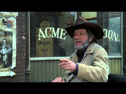 Tarantinoesque Dialog - John Wayne, Richard Boone, Lauren Bacall. clip from The Shootist (1976)