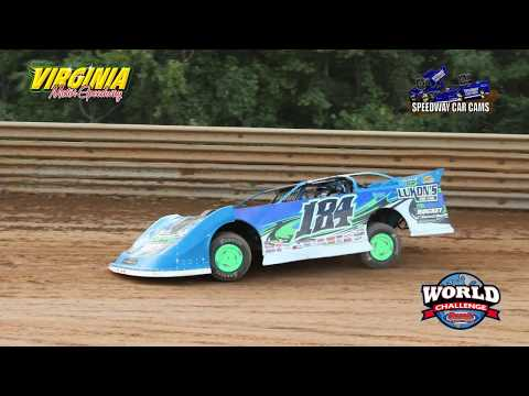 #184 Kyle Limon - Crate Late Model - 9-15-17 Virginia Motor Speedway - In Car Camera