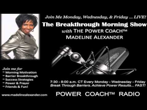 IMPLEMENT YOUR IDEAS! The Breakthrough Morning Show with The Power Coach™ (02-01-2013)