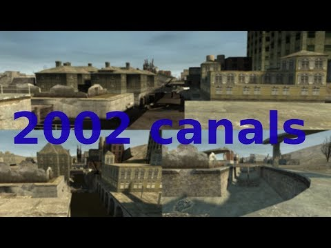 Half Life 2 Beta: 2002 Canals maps.