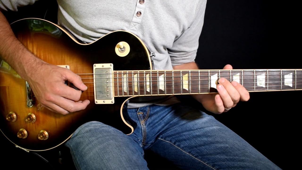 how to play since you ve been gone on guitar