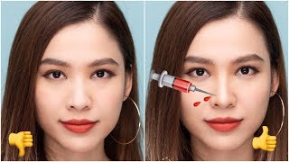 Nose Contour and Highlight Makeup Tutorial - Hack Sống Mũi Cực Đỉnh