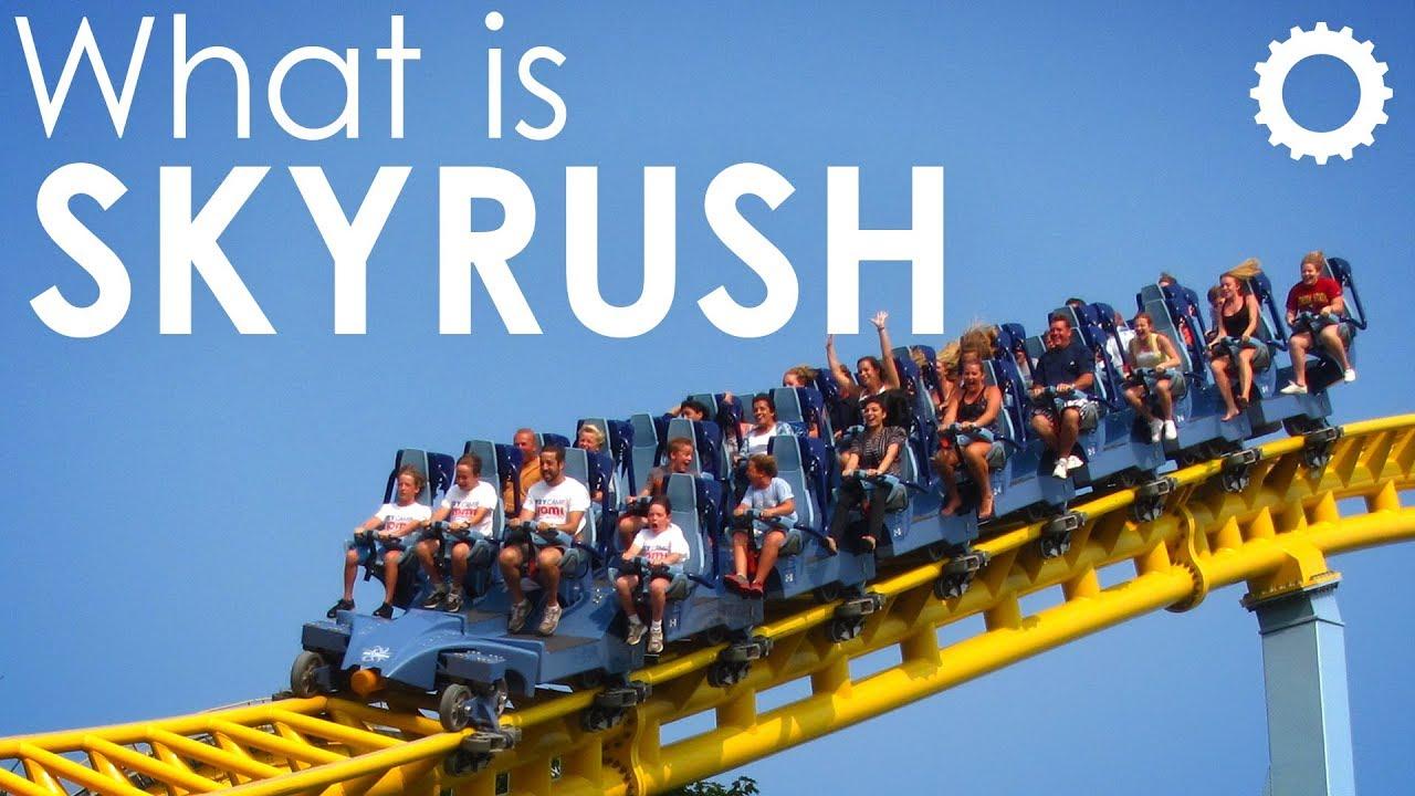 What Is Skyrush Hersheypark Youtube