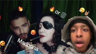 Madonna ft. Maluma  Medellin Official Video Reaction  #Reaction #react #Madonna #Medellin 🔥or🗑