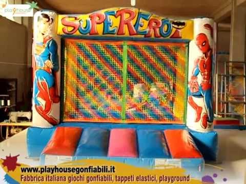 Tende Per Bambini Con Palline : Vasca con palline giochi gonfiabili supereroi youtube