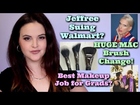 What's Up in Makeup NEWS! Jeffree Suing Walmart? MAC Goes Sy