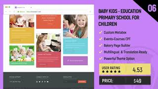 Best 7 KinderGarten Wordpress Themes 2019 - For Schools, Kids Education |Template7