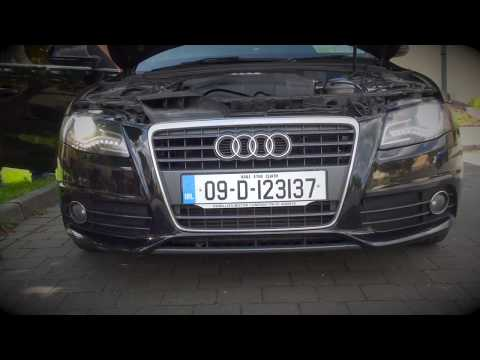 Audi A4 B8 2009-DIY- Xenon replacement.