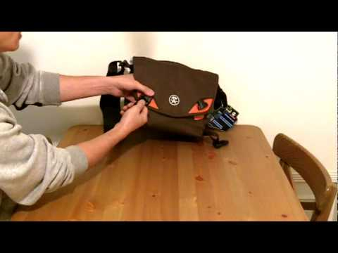 Best Price Crumpler 5 Million Dollar Home Digital Camera Bag Construction Demonstration Video