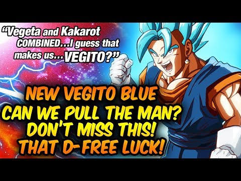 DID SOMEONE SAY TEQ VEGITO BLUE SUMMONS!? Dragon Ball Z Dokkan Battle