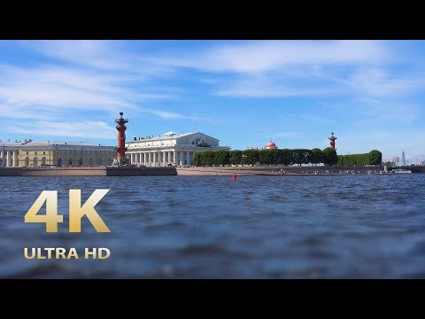 Summer in Saint Petersburg ~ Miniature city Film with Tilt-Shift effect Russia 4K UHD