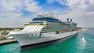 Celebrity Equinox Cruise Ship Flyover with a DJI Mavic Air 4K