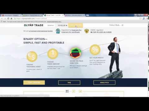 Trading di broker Olymp Trade profit $80 dalam 1 menit (Indonesia)