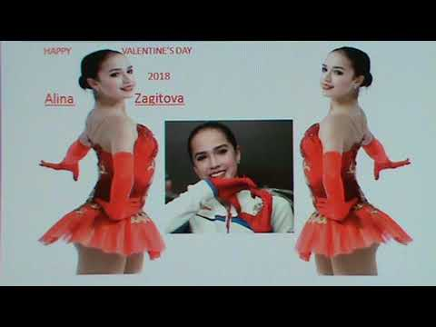 Happy Valentine's Day  Alina Zagitova     2018  02  12
