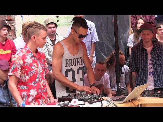 Хип хоп Фестиваль - Баттл Битоделов. Max DetaL' (Белгород). Питер, 2016.07.01