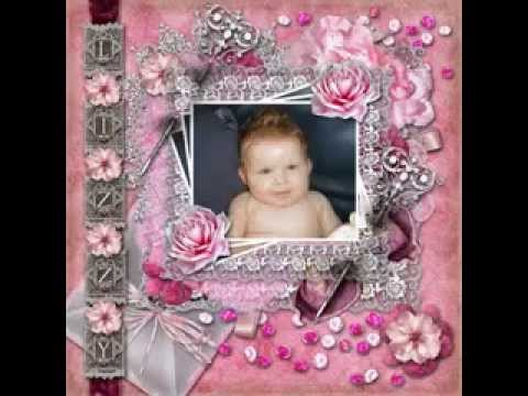 Scrapbooking Ideas For Baby Girl Youtube