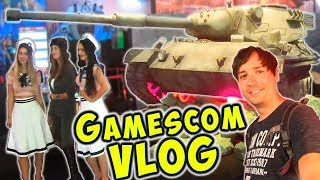 Exclusive GAMESCOM 2019 VIP Insights & War Robots Gameplay VLog WR