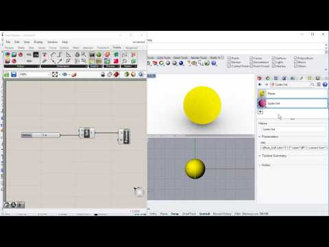 Grasshopper3D geometry and Raytraced / Cycles in Rhinoceros