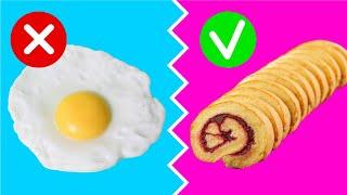 5 рецептов за 5 минут Проверяю лайфхаки с яйцами Крутая замена обычной яичнице Afinka