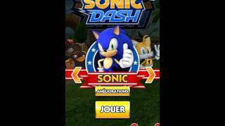 Sonic Dash Mod Apk V3.3.0