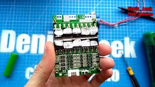 плата зарядки и балансира 4S 100A 12 В - как правильно заряжать  lifepo4 ? Установка и обзор