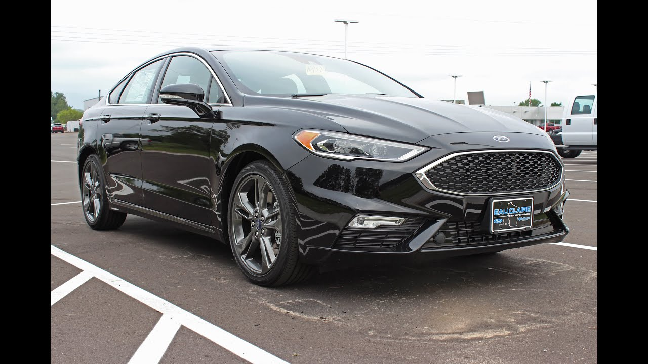 2017 ford fusion sport 2 7l ecoboost awd at eau claire ford lincoln quick lane youtube. Black Bedroom Furniture Sets. Home Design Ideas
