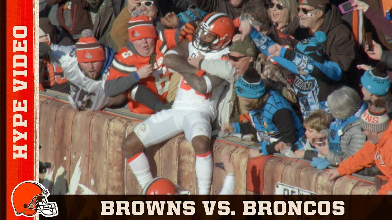 Browns Vs Broncos Hype Video Week 15 Cleveland Browns