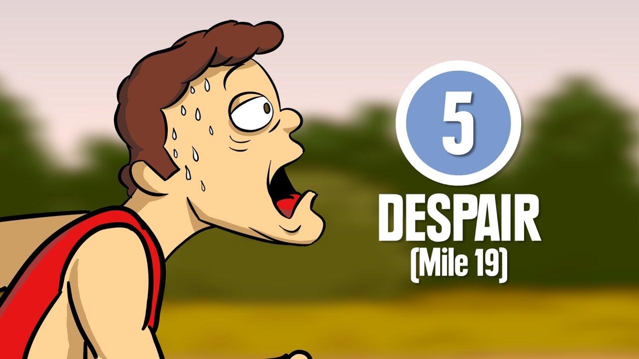 229ec4e5979c 8 Stages of Marathon Running - YouTube