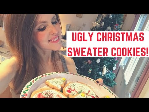 Anne Erickson - Anne's Ugly Christmas Sweater Cookies Look Nothing Like Sweaters