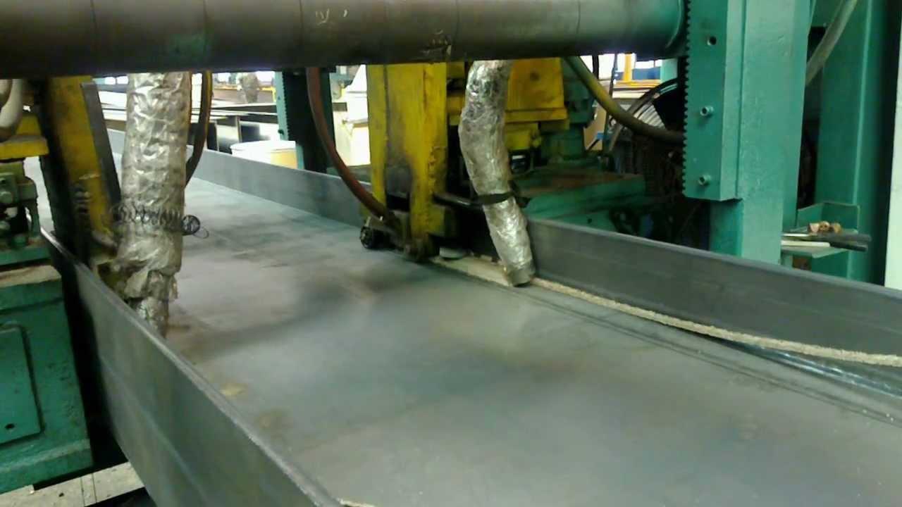 H Beam Welding Machine Part1 Youtube