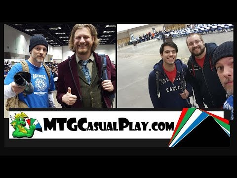 MTG Grand Prix Indianapolis 2018 Adventure - Meeting the Professor - Tolarian Community College