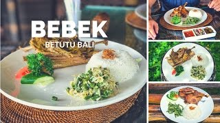 Где попробовать утку Bebek Betutu в Убуде || Вкусная еда на Бали, Индонезия