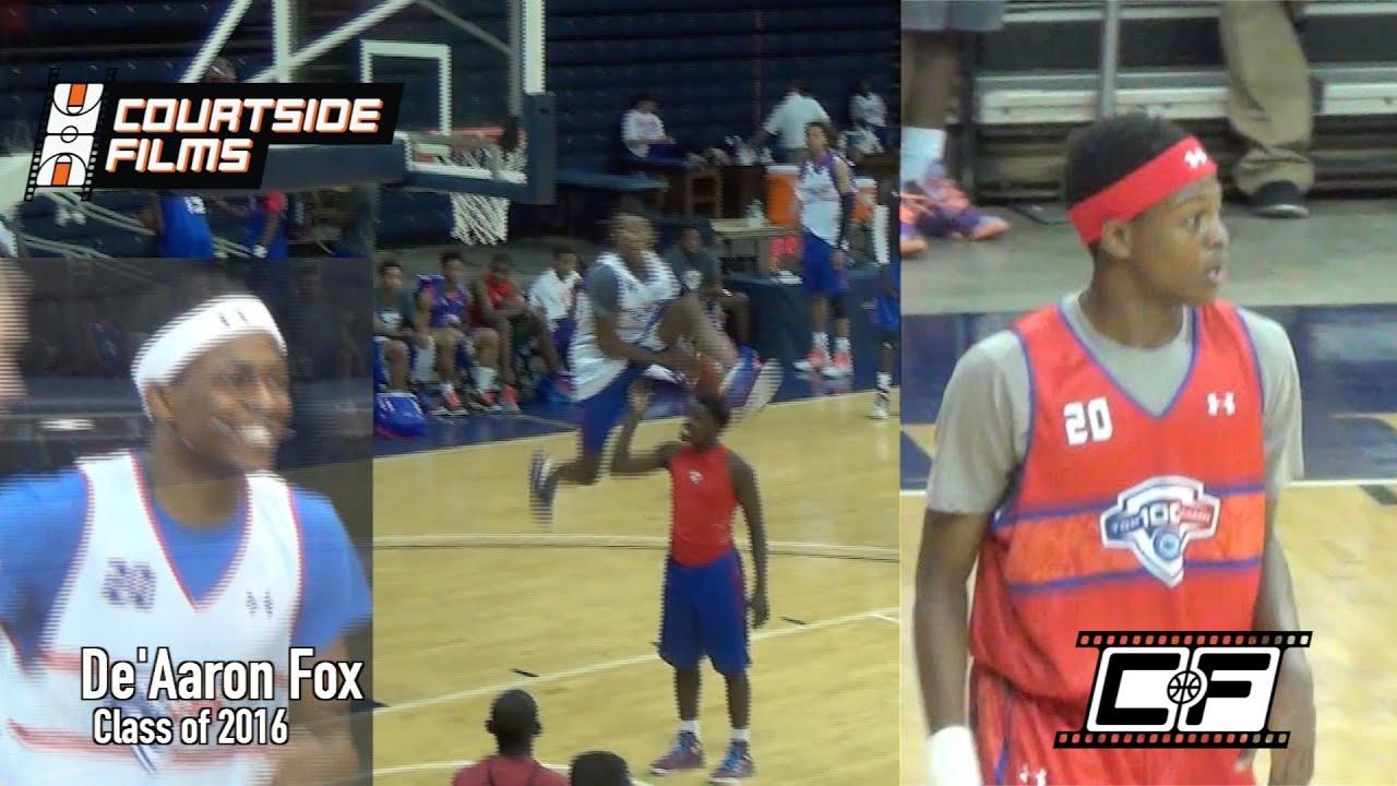 De'Aaron Fox Mixtape @ NBA Top 100 Camp - YouTube