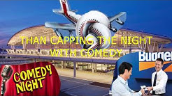Indianapolis Airport For Budget Car Rental Return And Comedy At  Night (2018)What Did This Guy Say?