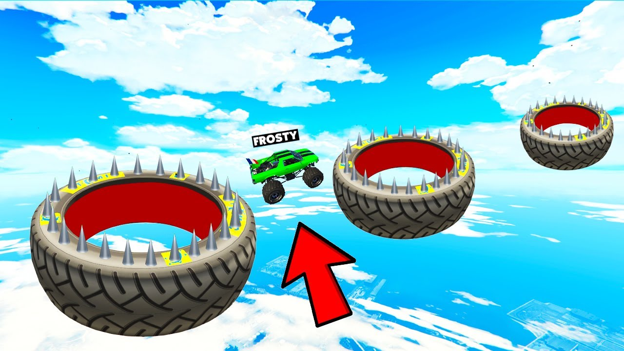 Download 1000% TYRE JUMP CHALLENGE IS VERY DIFFICULT  GTA 5