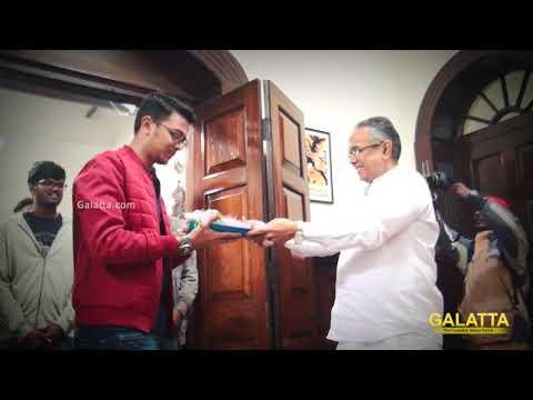 Naragasooran Movie Pooja | Karthick Naren...