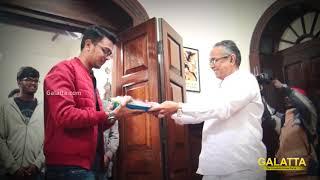 Naragasooran Movie Pooja | Karthick Naren | Arvind Swamy |  Sundeep Kishan