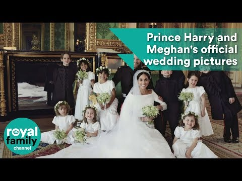 Official Wedding Photos.Prince Harry And Meghan Markle S Official Wedding Pictures