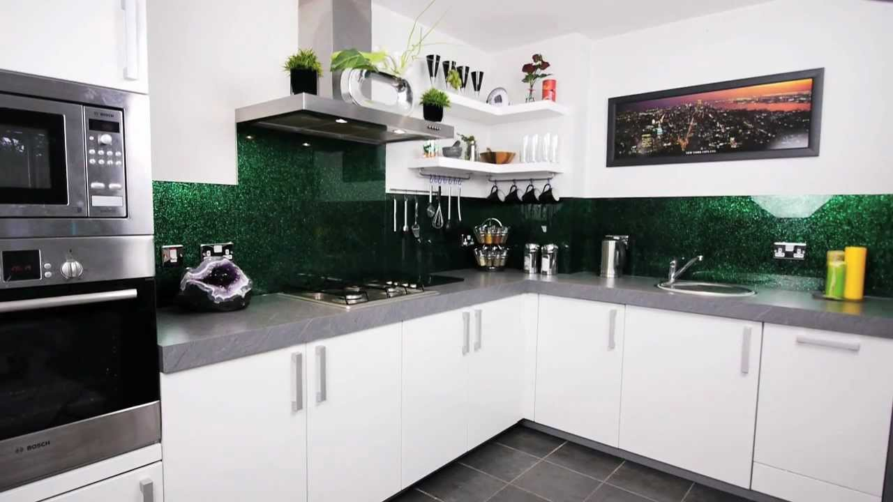 Glass Kitchen Splashback Measuring, Design, Installation