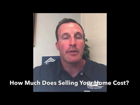 Cost Of Selling Your Mobile Home Yourself