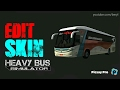 Heavy Bus Simulator | Edit Skin