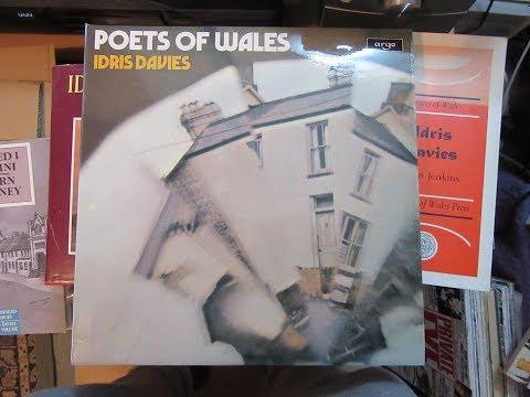 Idris Davies - Welsh Miner Poet - Argo Vinyl LP Record - Rare - Poetry Recitation